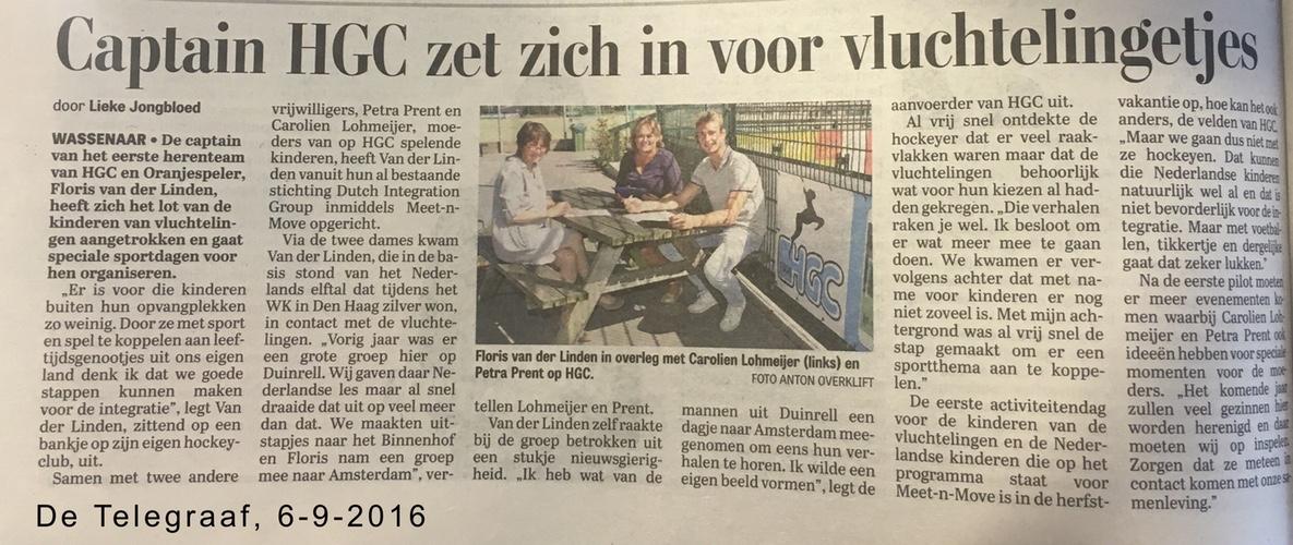 De Telegraaf, 8 september 2016